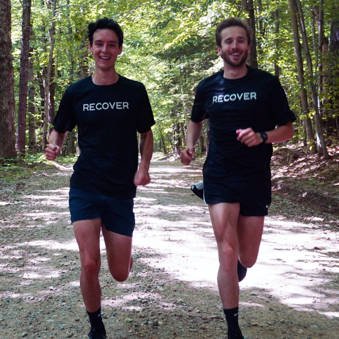 Nick Stewart and Nick Kafker from Recover Atheltics